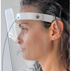 Visiera protettiva facciale in PET