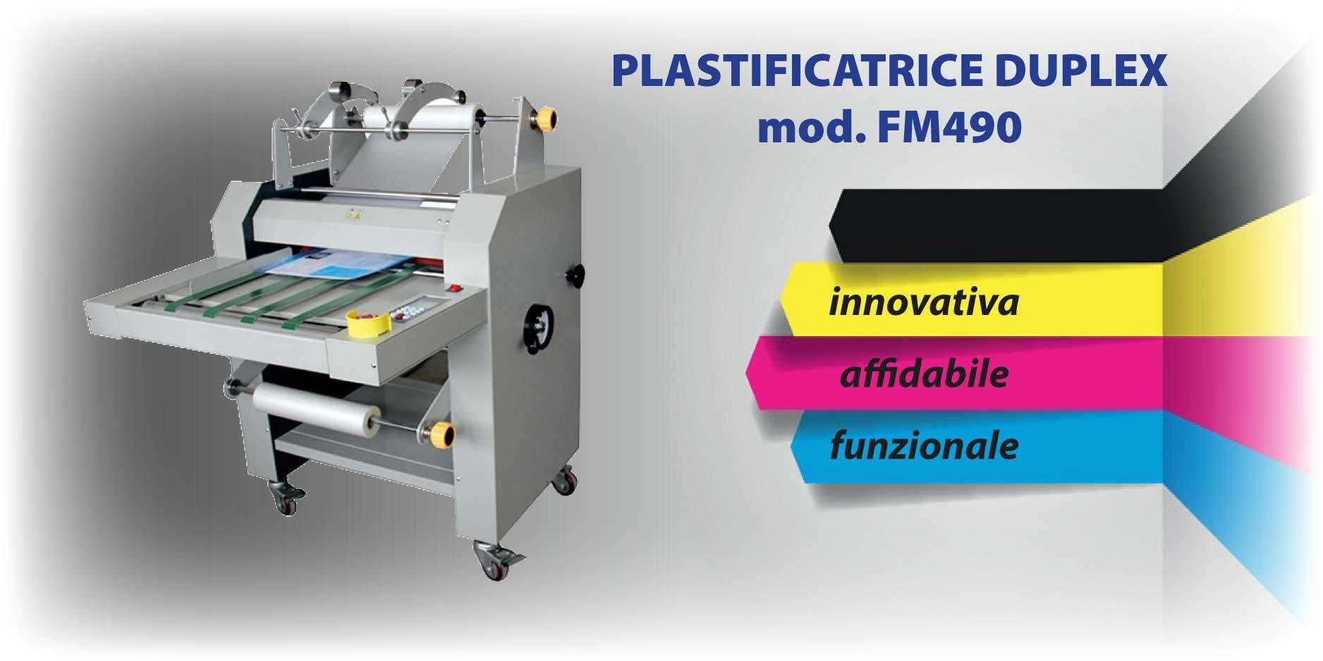 Plastificatrice FM490
