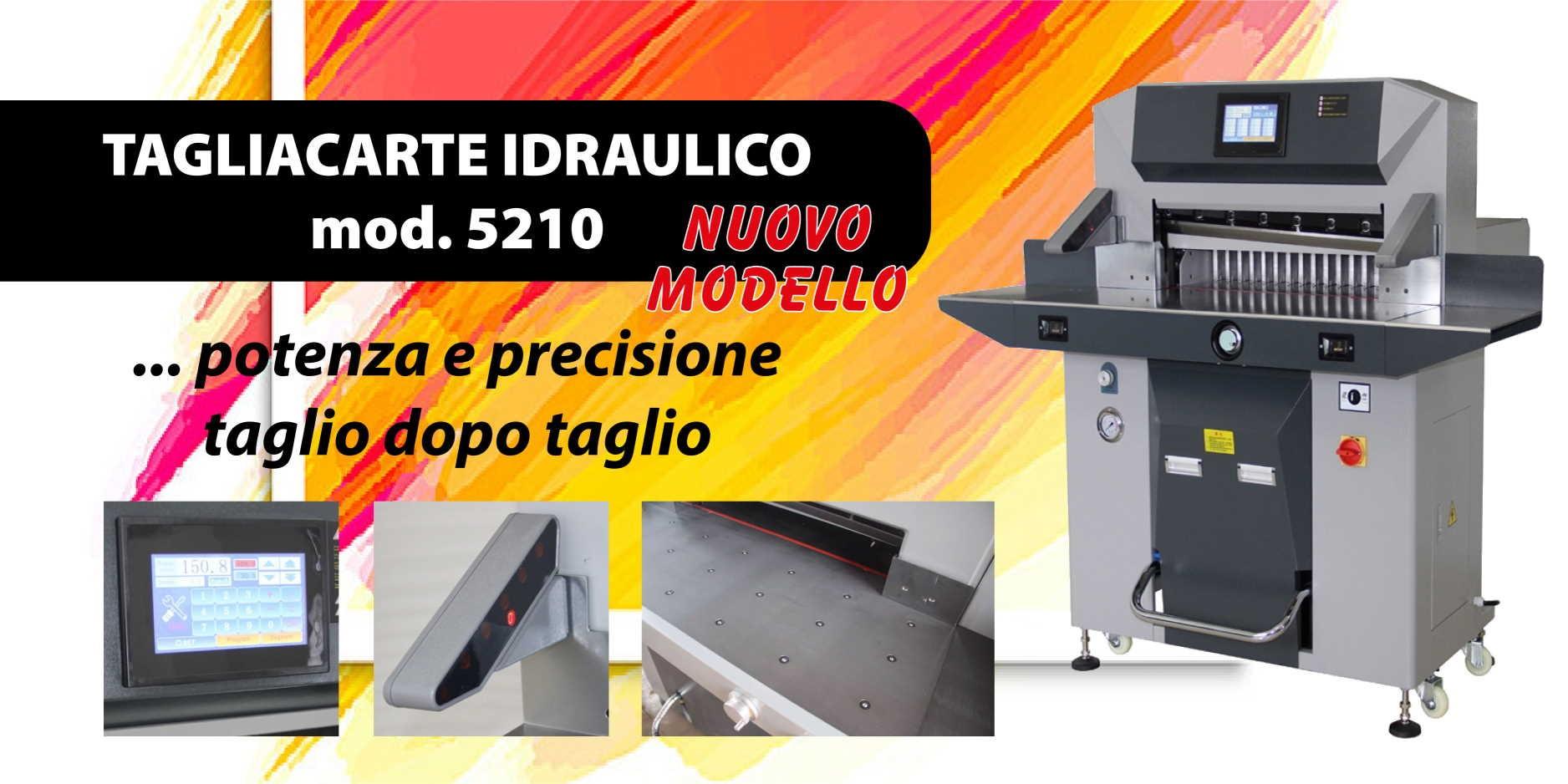 Tagliacarte idraulico modello 5210