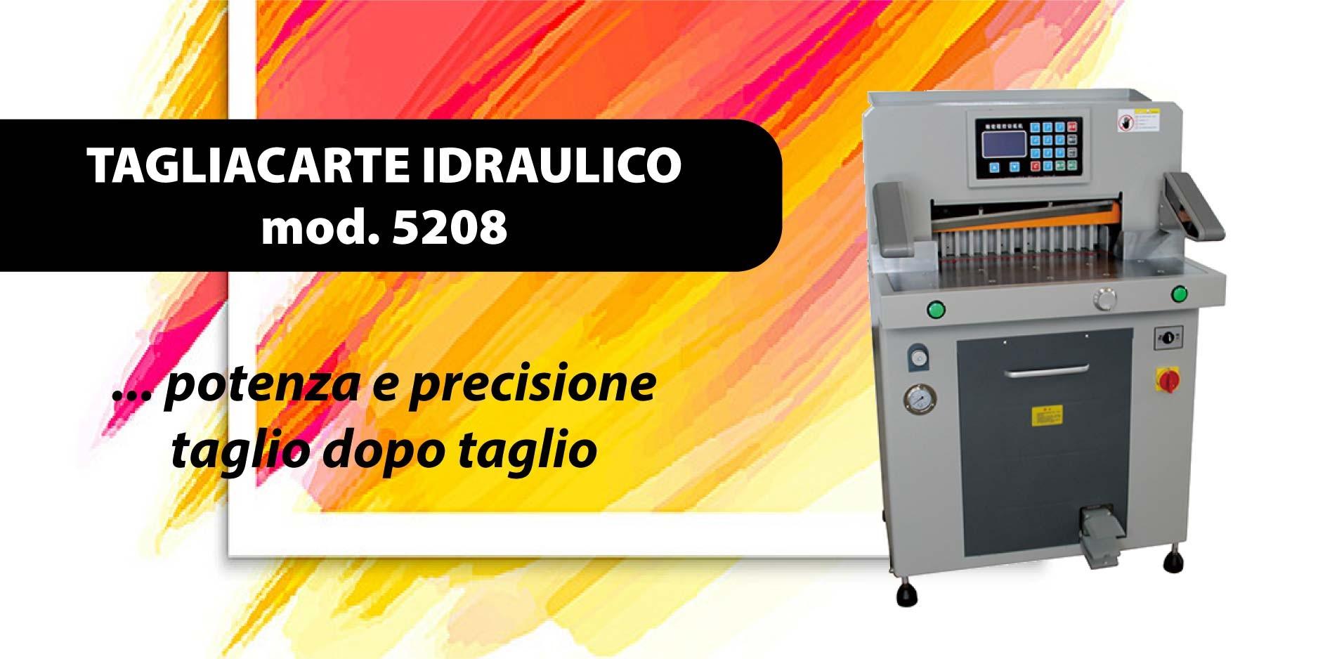 Tagliacarte idraulico modello 5208